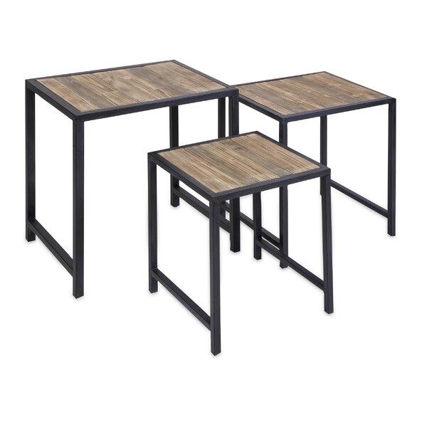 Sienna 3 Piece Nesting Tables by Gracie Oaks