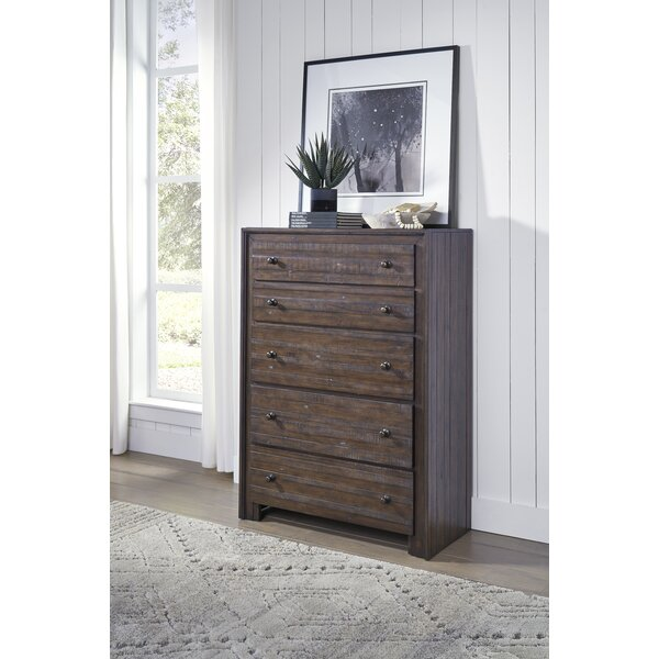 Van Reipen 5 Drawer Chest by Millwood Pines