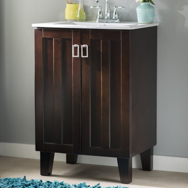 Larabee 24 Single Sink Bathroom Vanity Set by Latitude Run