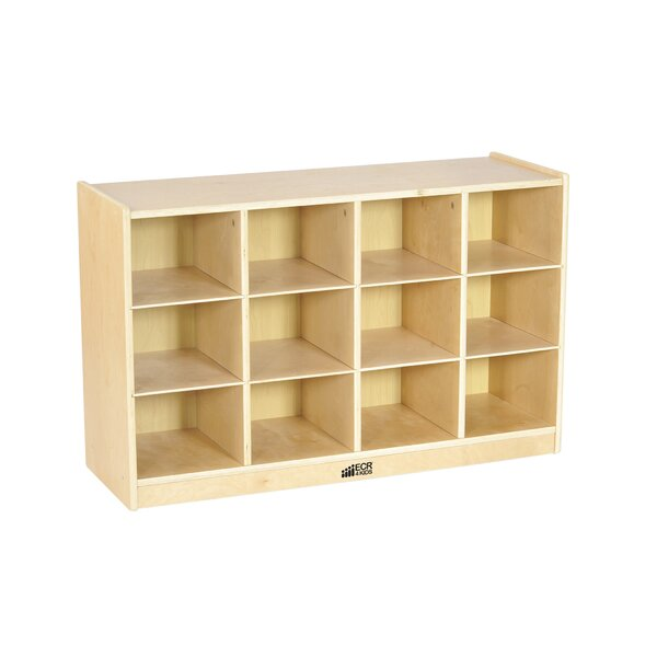 12 Compartment Cubby with Casters by ECR4kids