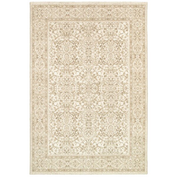 Duckett Champagne Area Rug by Charlton Home