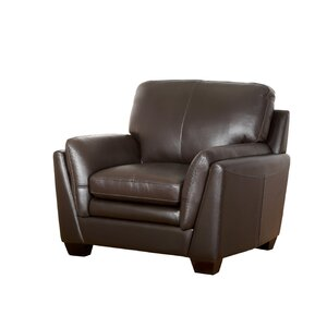 Whitstran Top Grain Leather Armchair Darby Home Co
