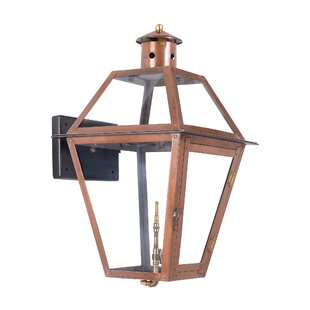 Aglandjia 1-Light Outdoor Wall Lantern By Bay Isle Home Outdoor Lighting