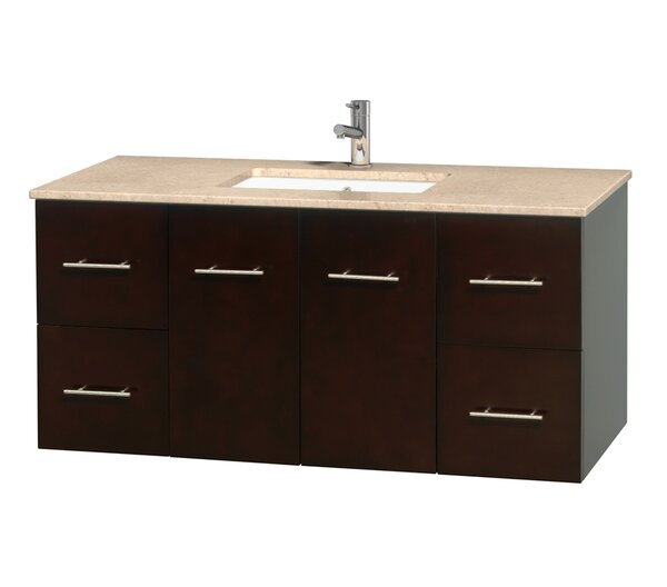 Centra 48 Single Bathroom Vanity Set by Wyndham Collection