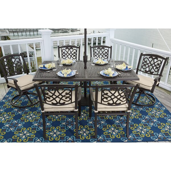Hanson 7 Piece Dining Set by Darby Home Co
