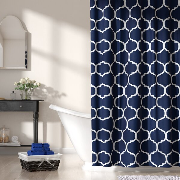 Bourget Shower Curtain by Three Posts