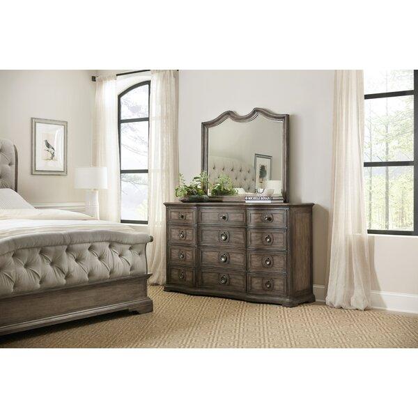 Woodlands 12 Drawer Double Dresser by Hooker Furniture