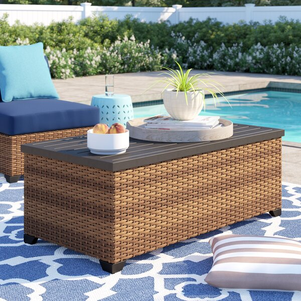 Waterbury Coffee Table by Sol 72 Outdoor