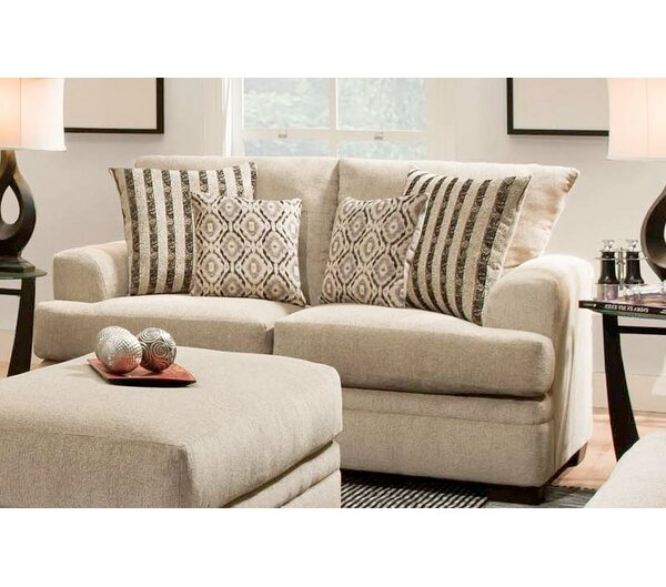 Find Out The Latest Pelayo Loveseat by Charlton Home by Charlton Home