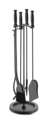 Barrel Handle 5 Piece Iron Fireplace Tool Set by Pilgrim Hearth
