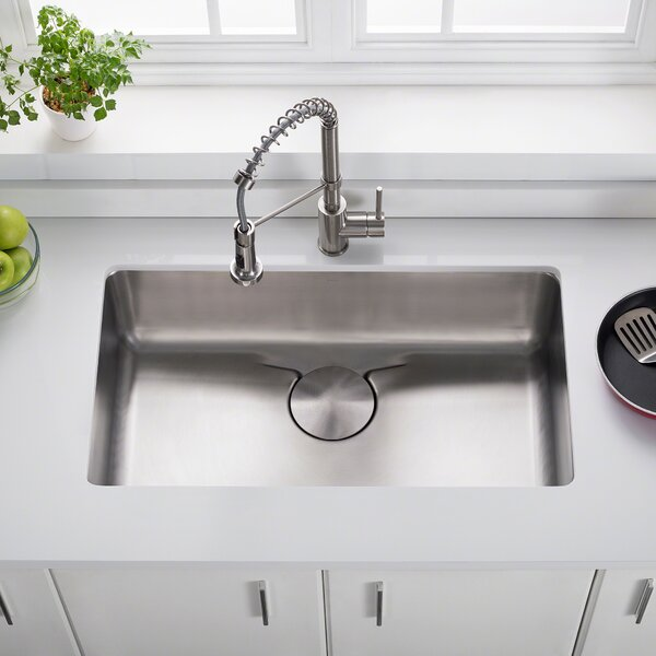 Dex™ Series 33 x 19 Undermount Kitchen Sink by Kraus