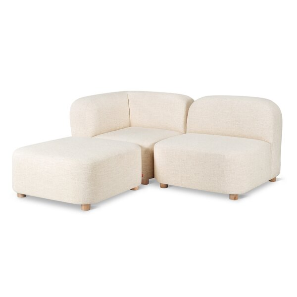 Circuit Armless  Reversible Sectional