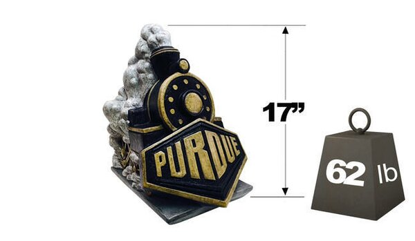 Purdue Boilermaker College Mascot Statue by Henri Studio