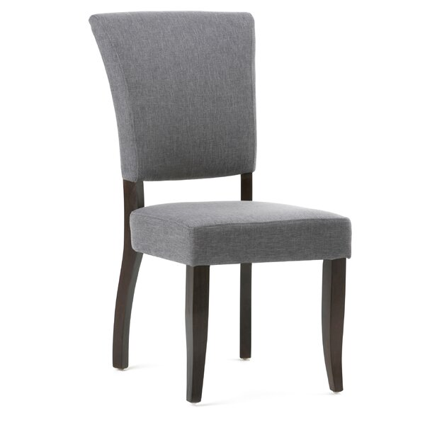 Alemany Deluxe Upholsered Dining Chair (Set of 2) by Alcott Hill Alcott Hill