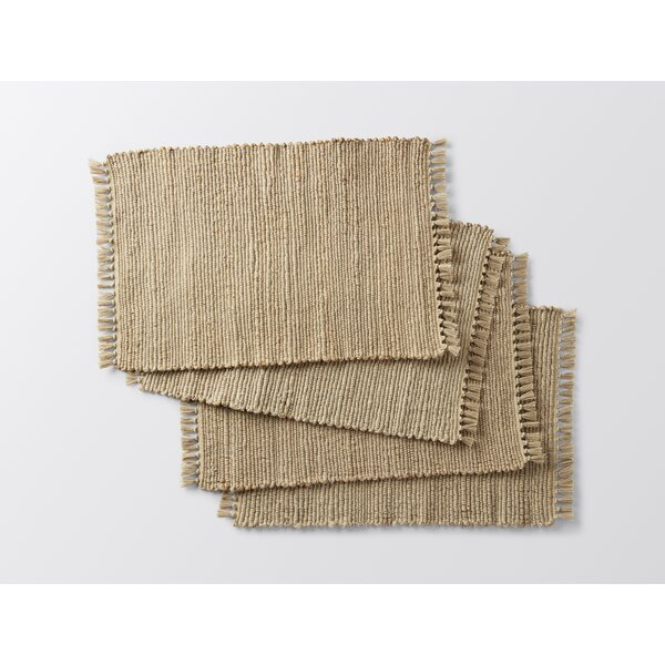 Handwoven Jute Placemat (Set of 4) by Coyuchi