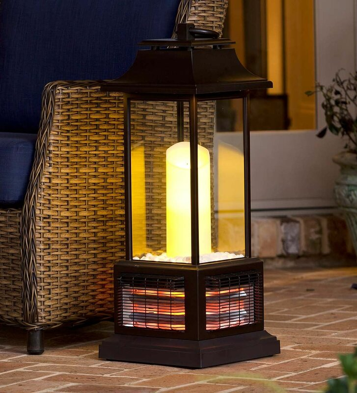 Plow Amp Hearth Outdoor Infrared Electric Tower Heater