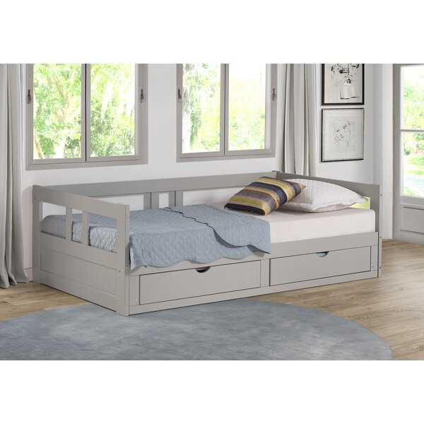 Bechtold Daybed With Trundle By Harriet Bee by Harriet Bee Discount