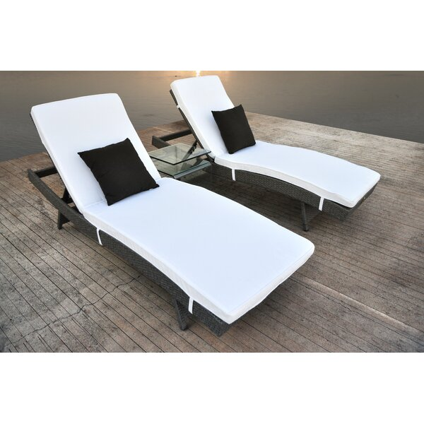 Zori 3 Piece Conversation Set With Cushions By Solis Patio
