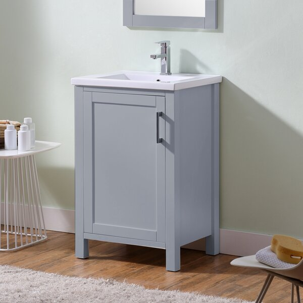 Camborne 24 Single Bathroom Vanity Set by Highland Dunes