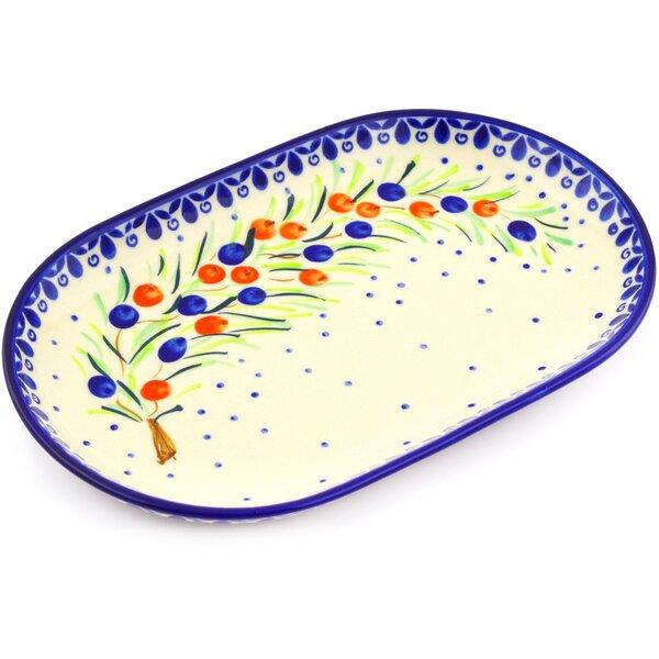 Polish Pottery 9 Oval Platter by Polmedia