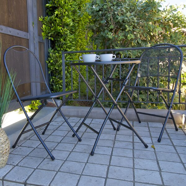 Claremonte 3 Piece Bistro Set by Royal Garden