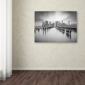 NYC 1 by Moises Levy Photographic Print on Wrapped Canvas by Trademark Fine Art