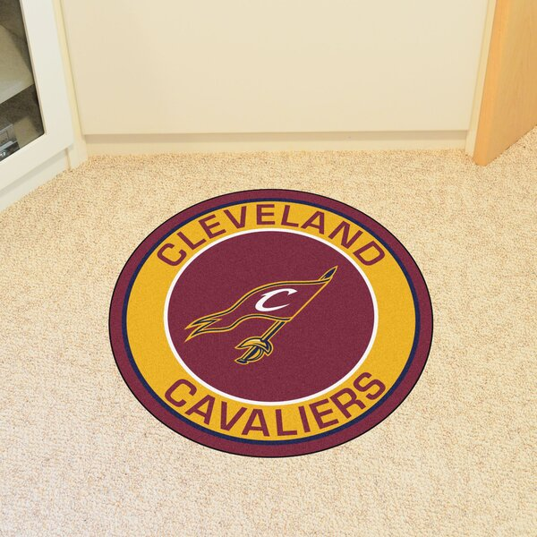 NBA Cleveland Cavaliers Roundel Mat by FANMATS