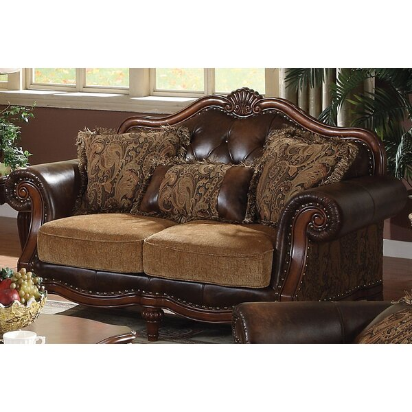 Clearance Mccauley Standard Loveseat by Astoria Grand by Astoria Grand
