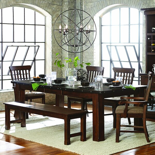 Hakana Extendable Dining Table by Loon Peak