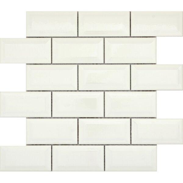 Vogue Bevel 2 x 4 Porcelain Mosaic Tile in Matte Biscuit by Emser Tile