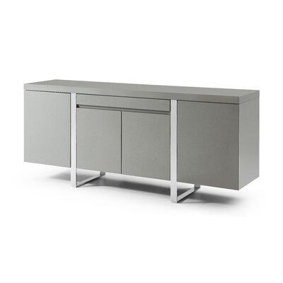 Bellini Modern Living Sierra Sideboard  Color: Gray, Leg Color: Bronze