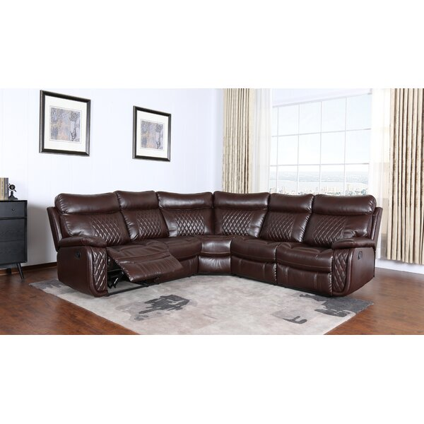 Moorman Symmetrical Reclining Sectional By Red Barrel Studio
