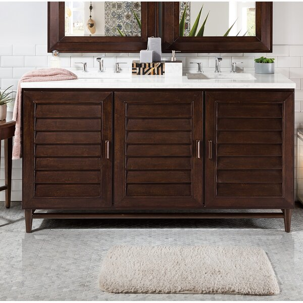Neuhaus 60 Double Bathroom Vanity Set by Beachcrest Home