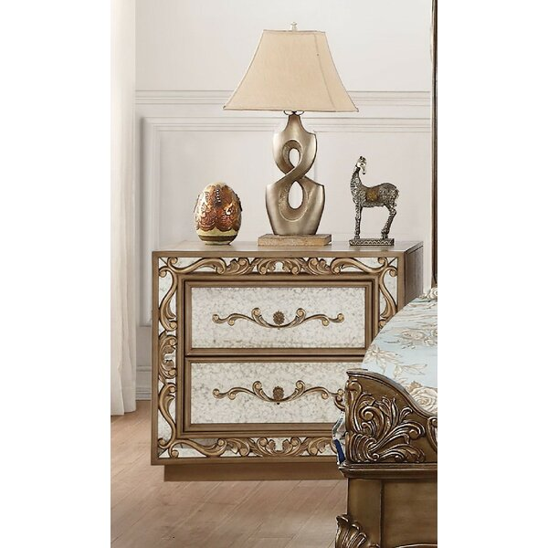 Nealy 2 Drawer Nightstand by Astoria Grand