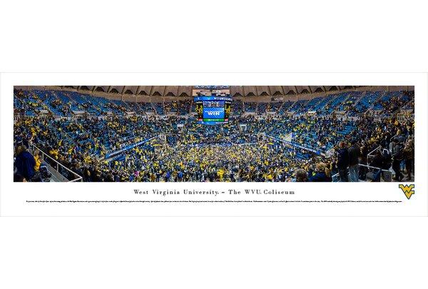 NCAA West Virginia University - Basketball by Christopher Gjevre Photographic Print by Blakeway Worldwide Panoramas, Inc