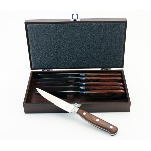 Pakka Steak Knife Set (Set of 6) by BergHOFF International