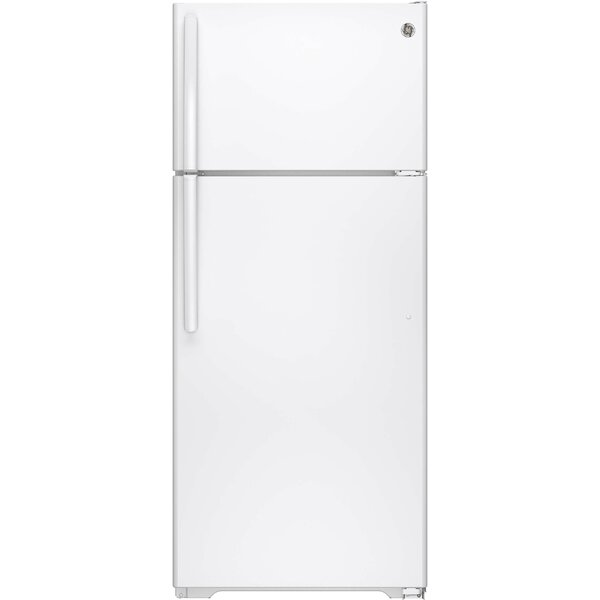 17.5 cu. ft. Energy Star® Top Freezer Refrigerator by GE Appliances