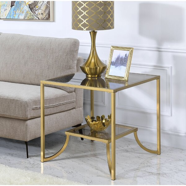 Belchertown End Table by Everly Quinn