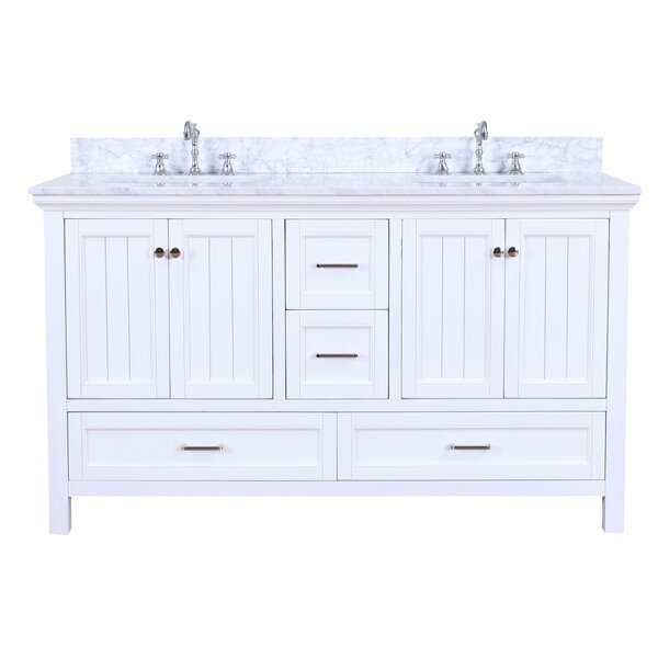 Paige 60 Double Bathroom Vanity Set by Kitchen Bath Collection