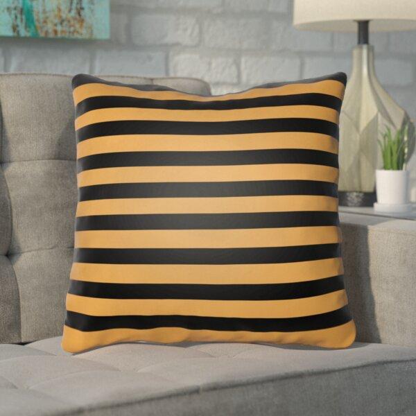Upsilon Indoor/Outdoor Throw Pillow by Mercury Row