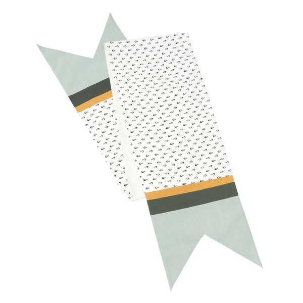 Patterned Banner Table Runner by Hallmark Home & Gifts