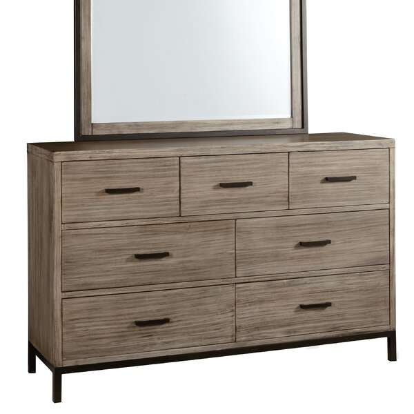 Lipsey 7 Drawer Double Dresser by Gracie Oaks