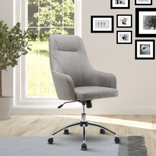 Fowler Comfy Height Adjustable Rolling Office High