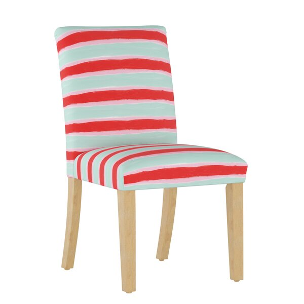 Temples Upholstered Dining Chair by Ebern Designs