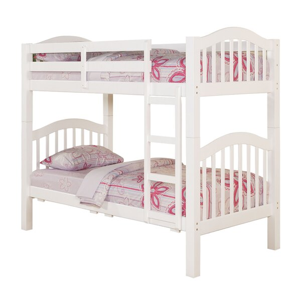 Knepper Twin Bunk Bed with Trundle by Harriet Bee