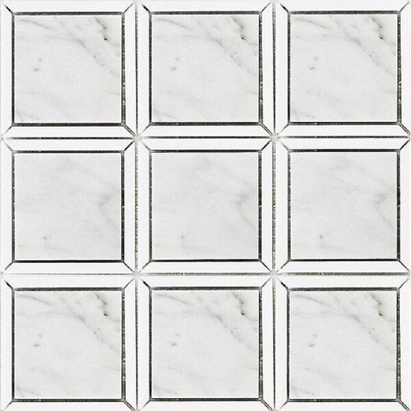 Alps Elegant Square 12 x 12 Marble Mosaic Tile