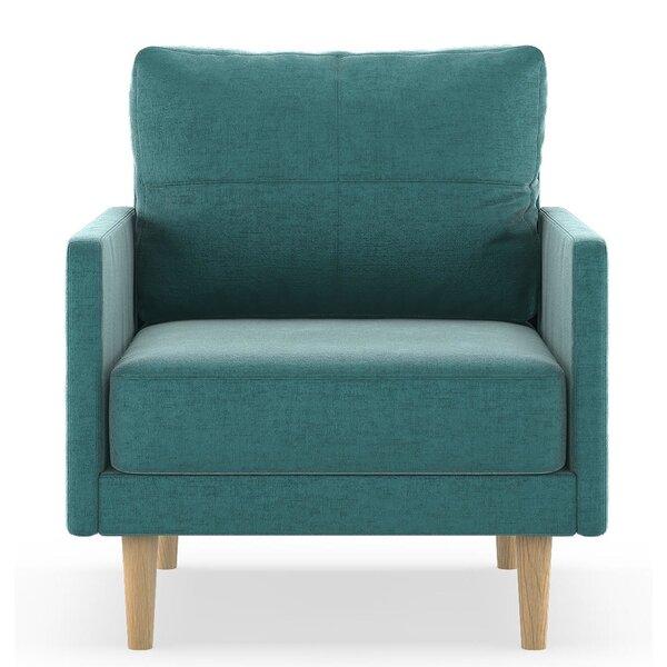 Couto Mod Velvet Armchair by Corrigan Studio