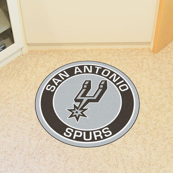 NBA San Antonio Spurs Roundel Mat by FANMATS
