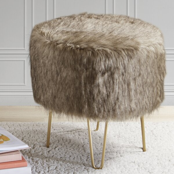 Marion Accent Stool by Union Rustic