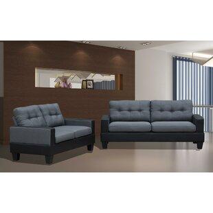 Harren 2 Piece Living Room Set by Latitude Run®